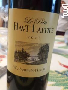 Le petit Haut Lafitte - Château Smith Haut Lafitte - 2013 - Rouge
