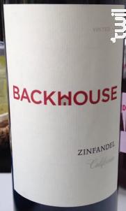 Backhouse Zinfandel - Backhouse - 2018 - Rouge