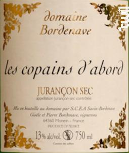 Les Copains d'abord - Domaine Bordenave - 2018 - Blanc