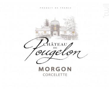 Morgon château de Pougelon - Vins Descombe - 2018 - Rouge