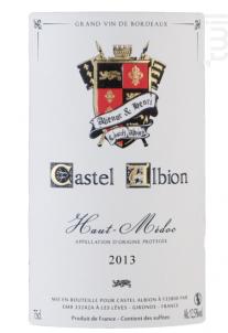 Haut Médoc - Castel Albion - 2013 - Rouge
