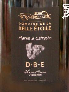 Marne à Ostracée - Domaine de la Belle Etoile - 2016 - Rouge