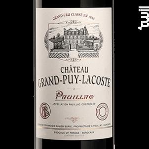 Château Grand-Puy-Lacoste - Château Grand-Puy-Lacoste - 2011 - Rouge