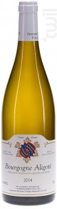Bourgogne Aligoté - Domaine Bzikot - 2014 - Blanc