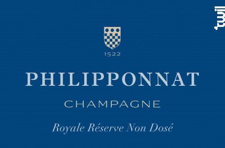 Royale Réserve Non Dosé - Champagne Philipponnat - Non millésimé - Effervescent