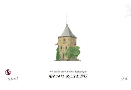 Condrieu - Domaine Benoît ROSEAU - Clos du pigeonnier - 2016 - Blanc