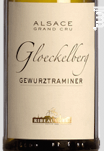 Gewurztraminer Grand Cru Gloeckelberg - Cave de Ribeauvillé - 2016 - Blanc