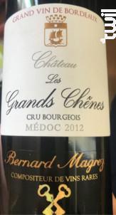 Château les Grands Chênes - Bernard Magrez- Château les Grands Chênes - 2012 - Rouge