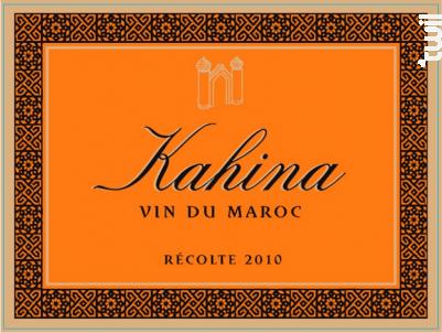 Kahina - Bernard Magrez - 2010 - Rouge