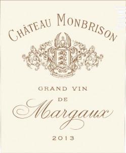 Château Monbrison - Château Monbrison - 2014 - Rouge