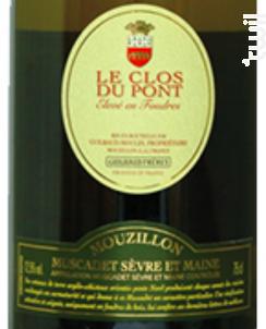 LE CLOS DU PONT - GUILBAUD Frères - 2009 - Blanc