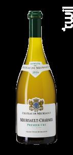 Meursault-Charmes Premier Cru - Château de Meursault - 2011 - Blanc