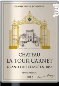 Château La Tour Carnet - Bernard Magrez - Château La Tour Carnet - 1989 - Rouge