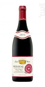 Bourgogne Pinot noir Bio - Louis Max - 2015 - Rouge
