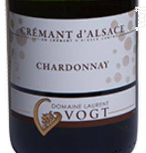 Crémant d'Alsace Chardonnay - Domaine Laurent Vogt - Non millésimé - Effervescent