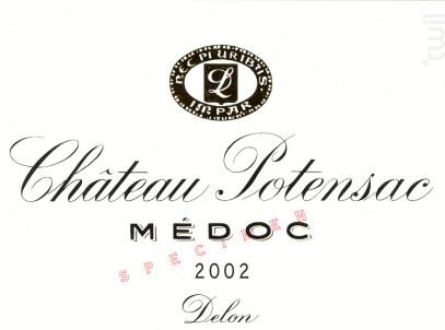 Château Potensac - Domaines Delon - Château Potensac - 2020 - Rouge