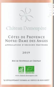 Notre-Dame des Anges - Château Demonpère - 2019 - Rosé