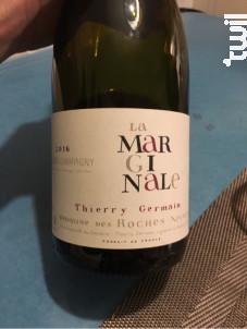 La Marginale - Thierry Germain - Domaine des Roches Neuves - 2017 - Rouge