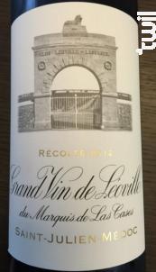Grand Vin de Léoville du Marquis de Las Cases - Château Léoville Las Cases - 2012 - Rouge