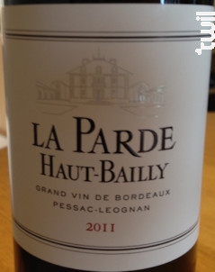 La Parde Haut-Bailly - Château Haut-Bailly - 2011 - Rouge
