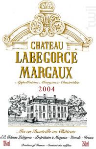 Château Labégorce - Château Labégorce - 2003 - Rouge
