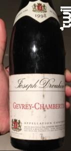 Gevrey-Chambertin - Maison Joseph Drouhin - 1972 - Rouge