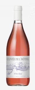 Cuvée de l'Hôtel - Castel Frères - 2018 - Rosé