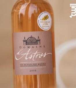 Cuvée Domaine - Château d'Astros - 2019 - Rosé