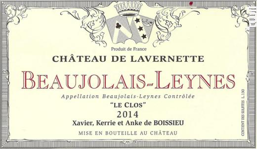 Beaujolais Leynes - 'Le Clos
