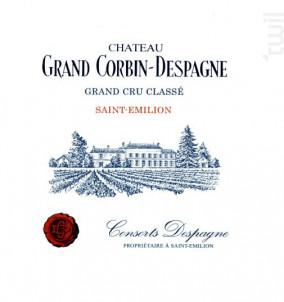 Château Grand Corbin-Despagne - Château Grand Corbin-Despagne - 2015 - Rouge