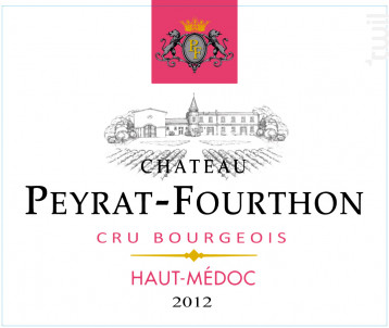 Château Peyrat-Fourthon - Château Peyrat-Fourthon - 2012 - Rouge