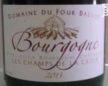 Bourgogne Les Champs de la Croix - Domaine du Four Bassot - 2014 - Rouge