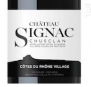 CHÂTEAU SIGNAC CHUSCLAN - Maison Chanzy - 2015 - Rouge