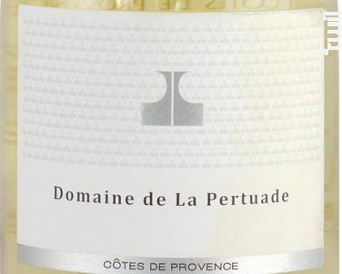 Cuvée du Domaine - Domaine de La Pertuade - 2016 - Blanc