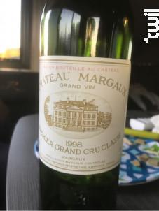 Château Margaux - Château Margaux - 1998 - Rouge