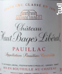 Château Haut-Bages Libéral - Château Haut-Bages Libéral - 2006 - Rouge