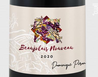 Beaujolais Nouveau - Dominique Piron - 2020 - Rouge