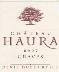 Château Haura - Denis Dubourdieu Domaines - 2018 - Rouge