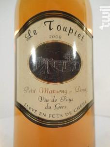 Le Toupiet - Francis et Guillaume Couralet - 2009 - Blanc