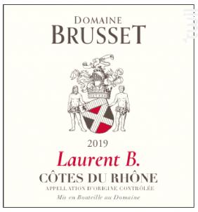Laurent B. - Domaine Brusset - 2019 - Rouge