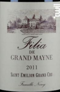 Filia Grand Mayne - Château Grand Mayne - 2011 - Rouge