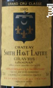 Les Hauts de Smith - Château Smith Haut Lafitte - 1981 - Rouge