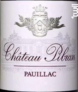 Château Pibran - Chateau Pibran - 2017 - Rouge
