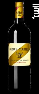 Château Lagrave-Martillac - Château Latour-Martillac - 2012 - Rouge