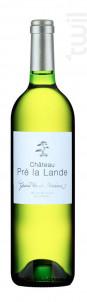 Fontenelles Blanc Sec - Château Pré La Lande - 2015 - Blanc
