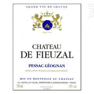 Château de Fieuzal - Château de Fieuzal - 2007 - Blanc