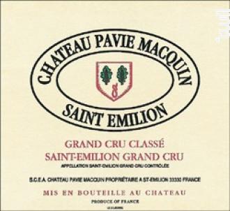 Château Pavie Macquin - Château Pavie Macquin - 2018 - Rouge