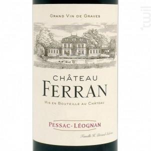 Château Ferran - Château Ferran - 2007 - Rouge
