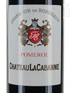 Château la Cabanne - Château La Cabanne - 2016 - Rouge