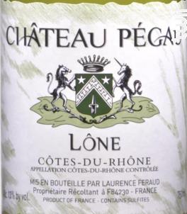 Cuvée Lône - Domaine Du Pegau - 2013 - Blanc